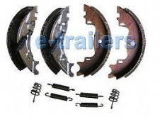 TRAILER BRAKE SHOES 160x35 KNOTT TYPE MK3 AUTO REVERSE FITS IFOR WILLIAMS BRIAN JAMES & MORE